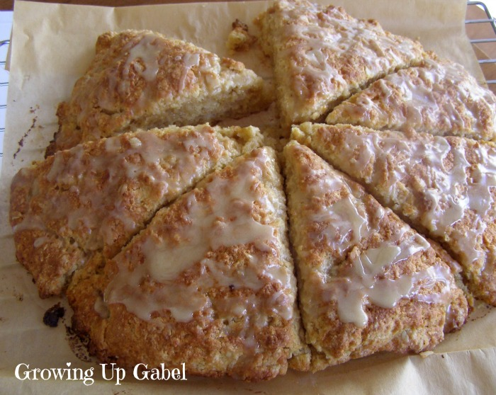 Maple Oatmeal Scones - Growing Up Gabel