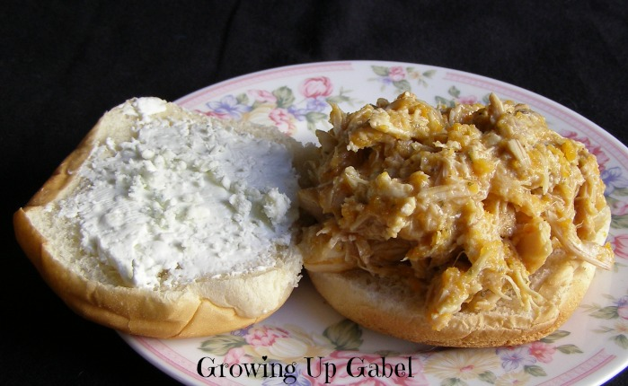 Slow Cooker Buffalo Chicken Sandwiches - Growing Up Gabel @thegabels
