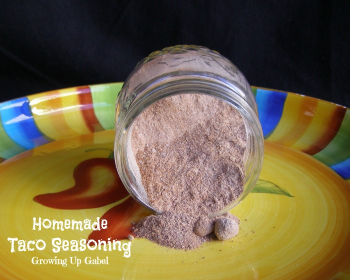 Taco Seasoning Recipe - Growing Up Gabel @thegabels #recipe