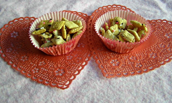 valentine chex mix from growing up gabel thegabels recipe