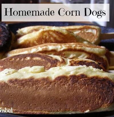 Homemade Corn Dogs - Growing Up Gabel