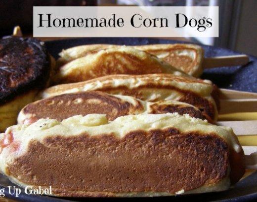 Homemade Corn Dogs