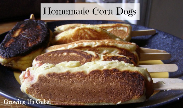 Homemade Corn Dogs - Growing Up Gabel