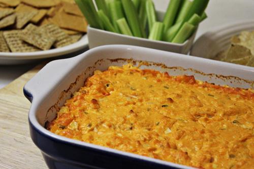 Buffalo Chicken Dip: Iron Chef Mom Cream Cheese Battle