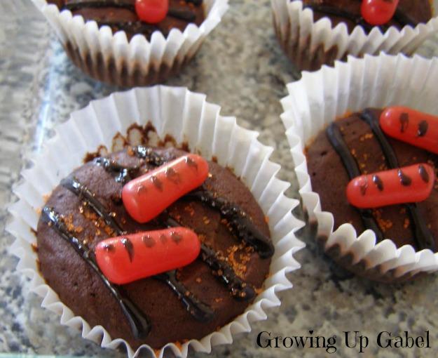 Grilled Brownie Cupcakes from growingupgabel.com @thegabels #recipe # ...