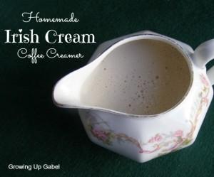 Irish Cream Coffee Creamer from growingupgabel.com @thegabels #recipe