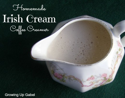 Irish Cream Coffee Creamer