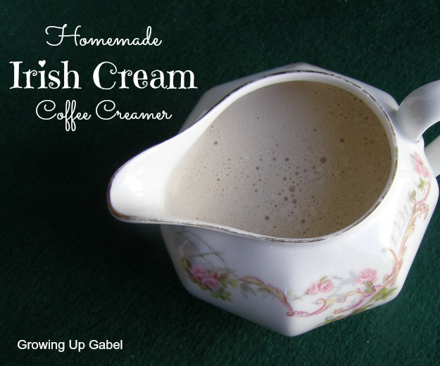 Irish Cream Coffee Creamer from growingupgabel.com @thegabels #recipe