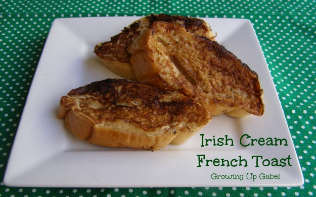 Irish Cream French Toast from growingupgabel.com @thegabels #recipe #breakfast
