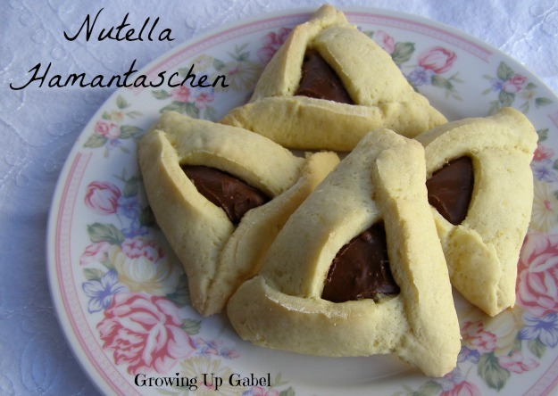Nutella Hamantaschen from growingupgabel.com @thegabels #recipe