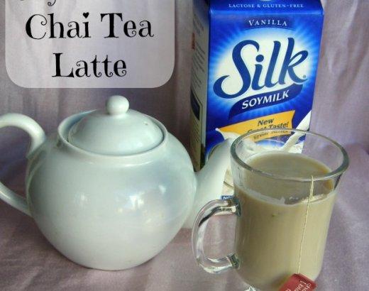 Vanilla Soy Chai Tea Latte