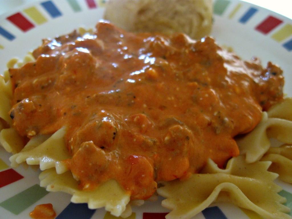 cream cheese spaghetti sauce