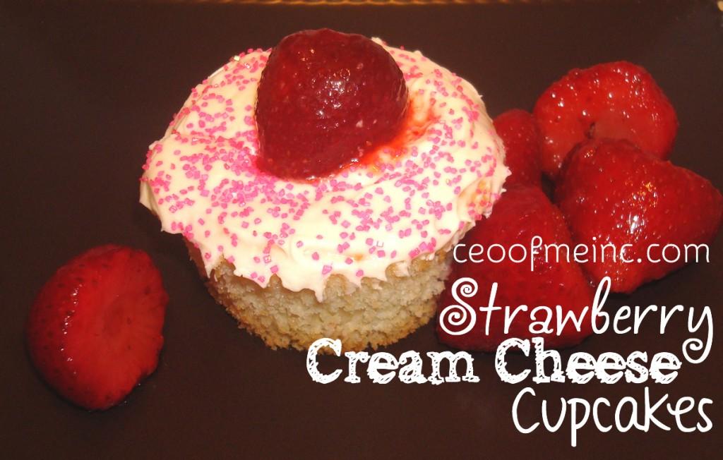 strawberrycreamcheesecupcakes