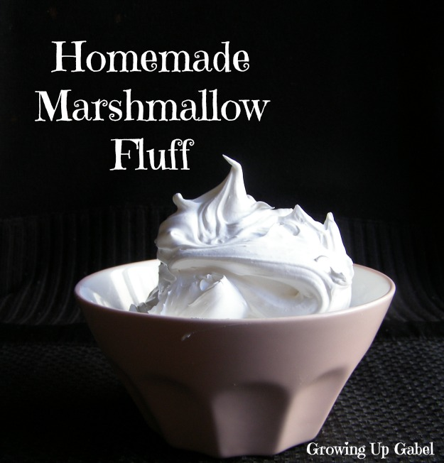 Marshmallow Fluff from growingupgabel.com @thegabels #recipe