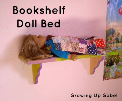Wash Out Mod Podge for Kids Doll Bed