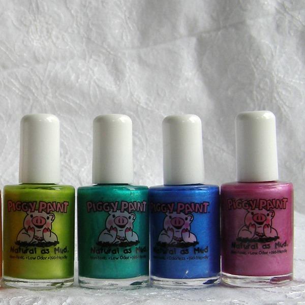 Water Nail Polish For Little Girls: Piggy Paint