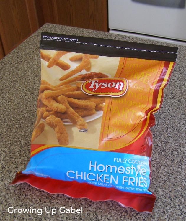 Tyson Chicken Fries Dipping Sauce #ChickenFryTime