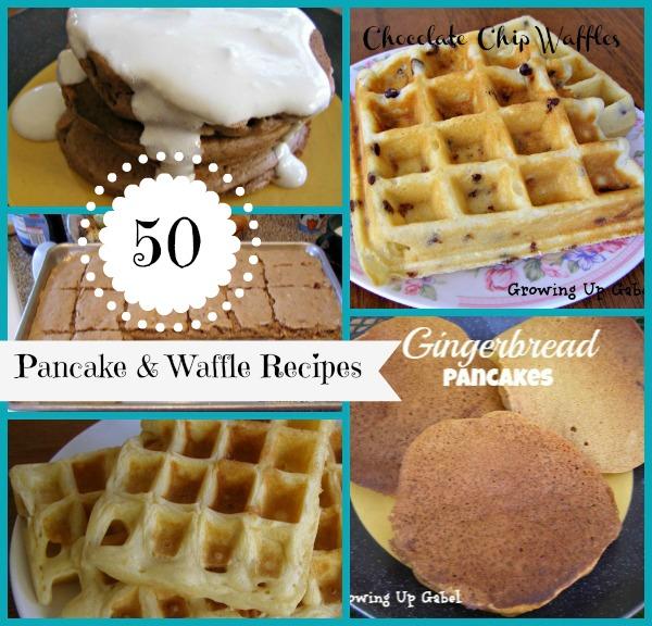 50 Pancake and Waffle Racipes