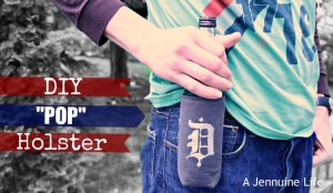 Fathers Day Craft: DIY Pop Holster