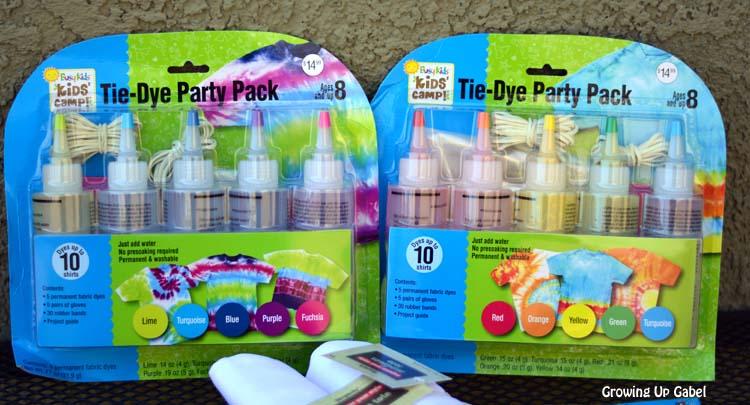Tie Dye Party Pack