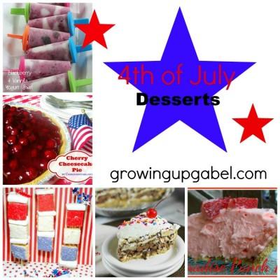 4thof July Desserts