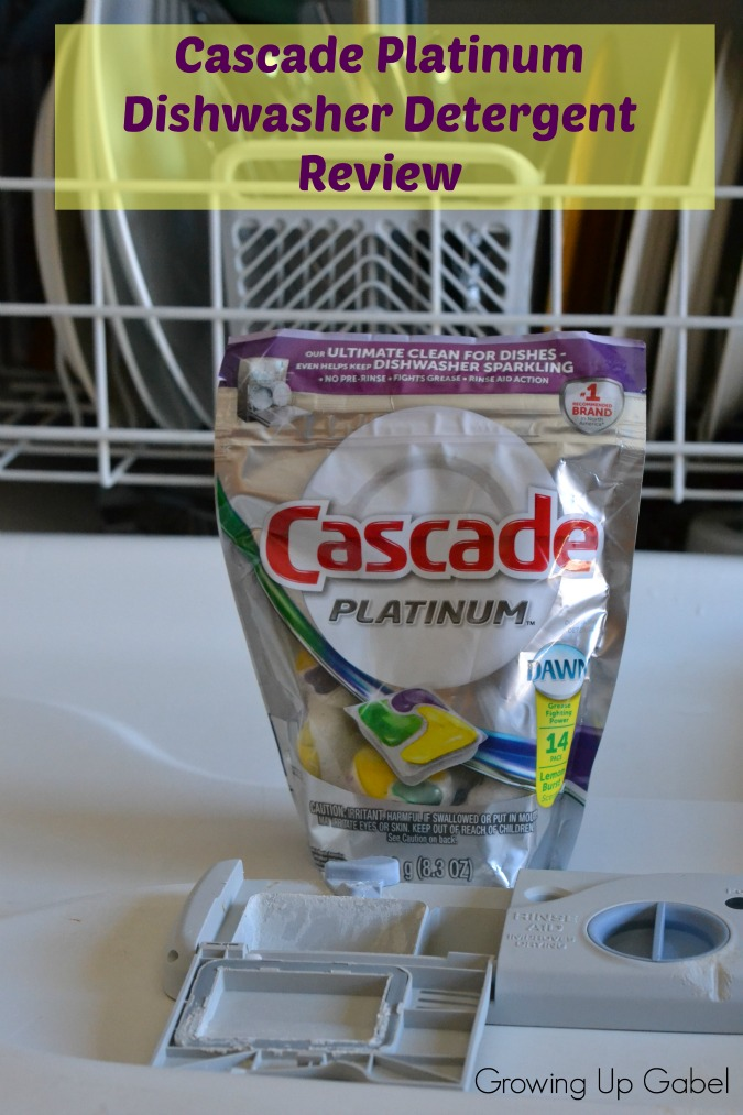 Cascade Platinum Dishwasher Detergent Review
