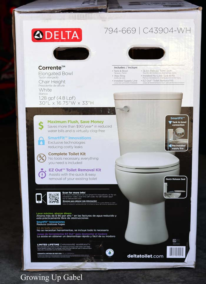 Elongated Water Saving Toilet