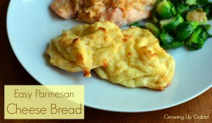 Easy Parmesan Cheese Bread
