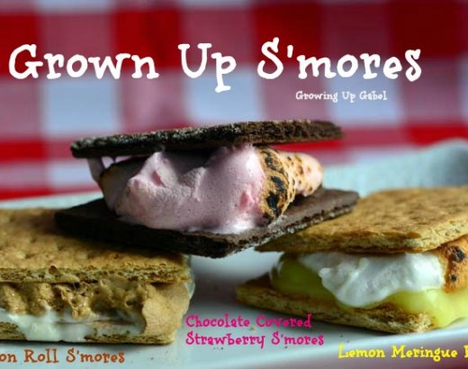 More S'mores: Grown Up S'mores