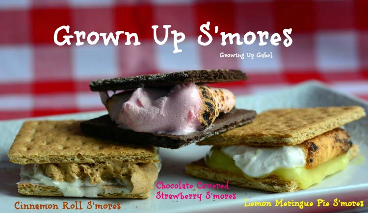 Home Family Recipes More S'mores: Grown Up S'mores