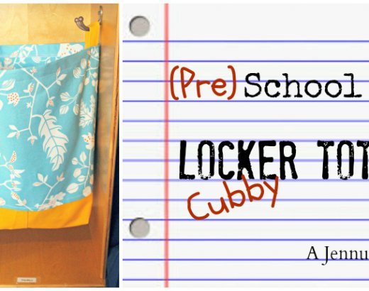 Back to School: DIY Locker Tote