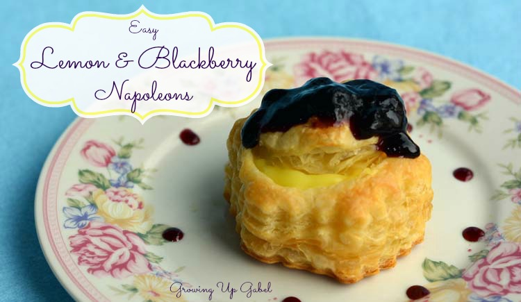 Home Family Recipes Lemon and Blackberry Napoleons