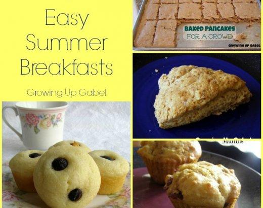 4 Easy Breakfast Recipes for Summer