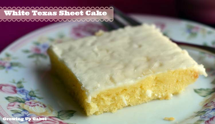What Is A White Texas Sheet Cake