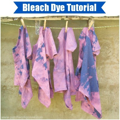 bleach dye tutorial