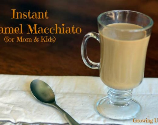 Instant Caramel Macchiato: Easy Meal for Back to School