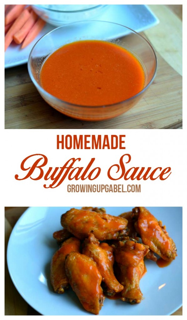 Make the best homemade buffalo sauce with just 3 ingredients! This quick and easy recipe can be adjust to make mild, medium or hot sauce.