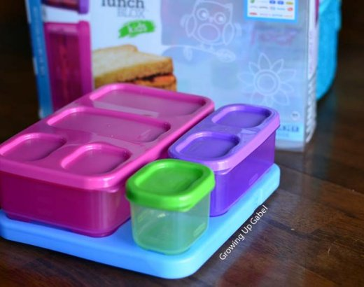 Pack a Bento Lunch Box with Rubbermaid Lunch Blox for Kids