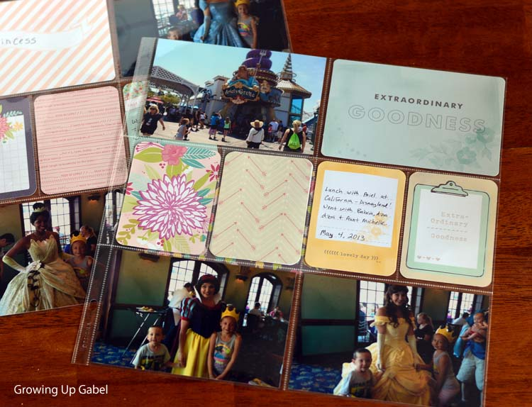 Easy Scrapbooking With Project Life Scrapbook Kit