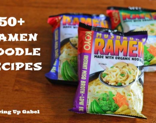 50 Ramen Noodle Recipes