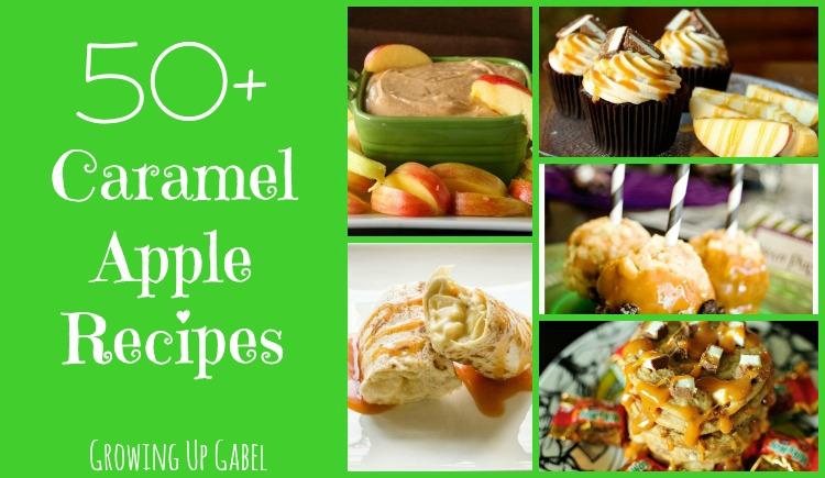 Caramel Apple collage slider