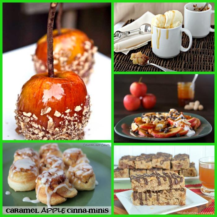 caramel apple square