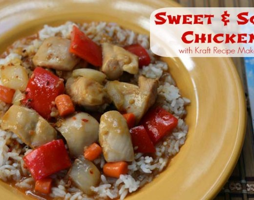 Sweet and Sour Chicken: Easy Meals with Kraft Recipe Makers