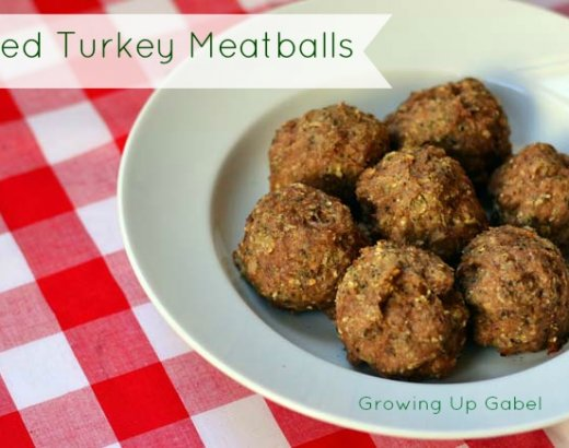 Herbed Turkey Meatballs from McCormick Spices