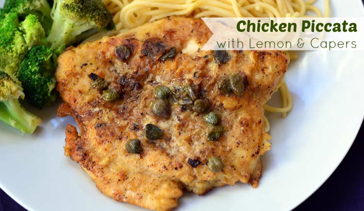 Chicken Piccata with Lemons and Capers