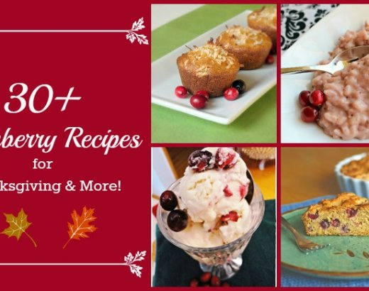 30+ Cranberry Recipes for Thanksgiving and More