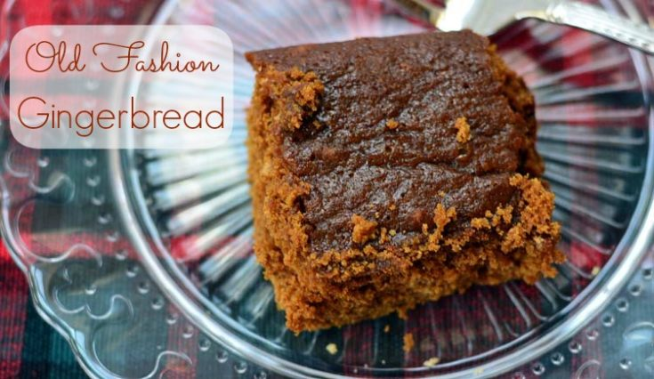 Old Fashion Gingerbread