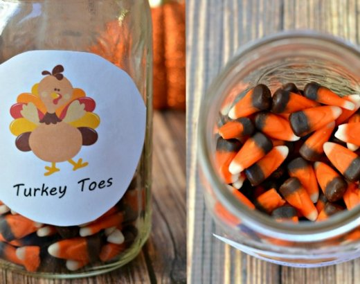 Thanksgiving Printable: Turkey Toes FREE Printable!
