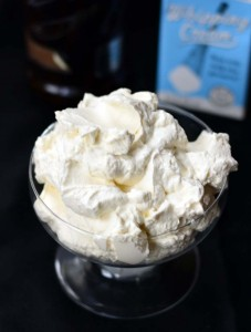 whipped cream finished