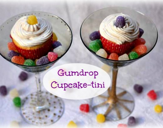 Gumdrop Cupcaketini